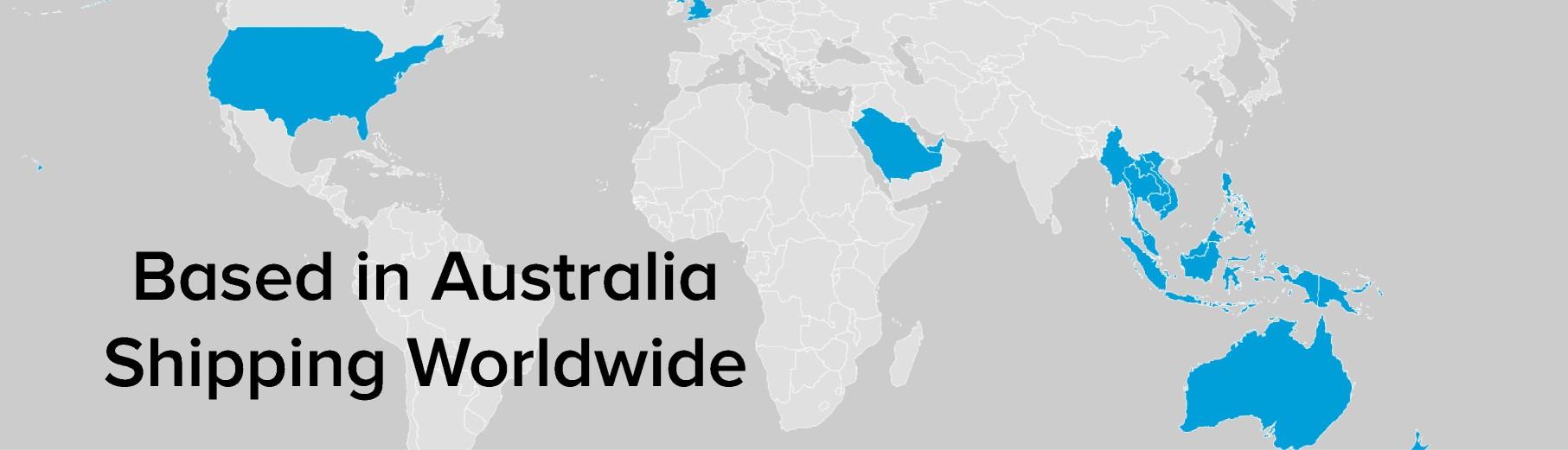 Locations World Map | Henchman