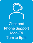 Chat Support Footer