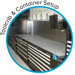 ToolCrib & Container Setup