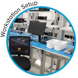 Workstation Workbench Setup Service | Henchman