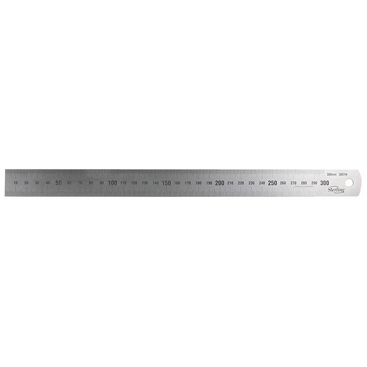 150mm/6in Stainless Steel Ruler - Metric/Imperial