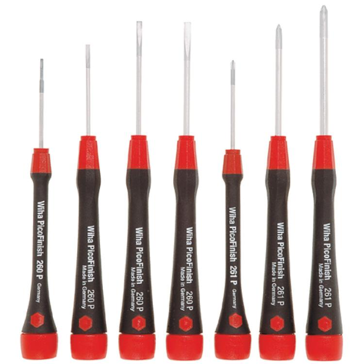 Wiha Jewellers Set Screwdrivers 7 Pcs
