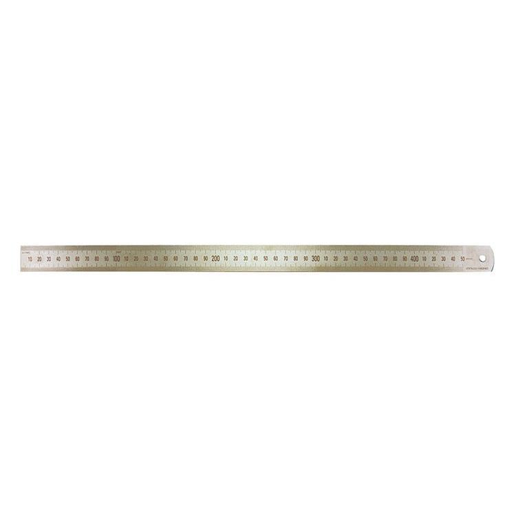 450mm/18in Stainless Steel Ruler - Metric/Imperial