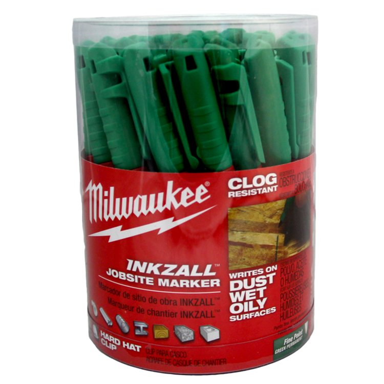 Milwaukee Inkzall Fine Point Marker Green