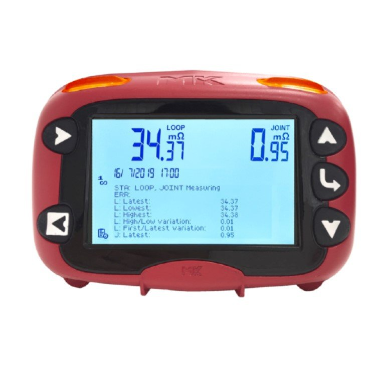 ExLRT Intrinsically Safe Loop and Joint Resistance Tester