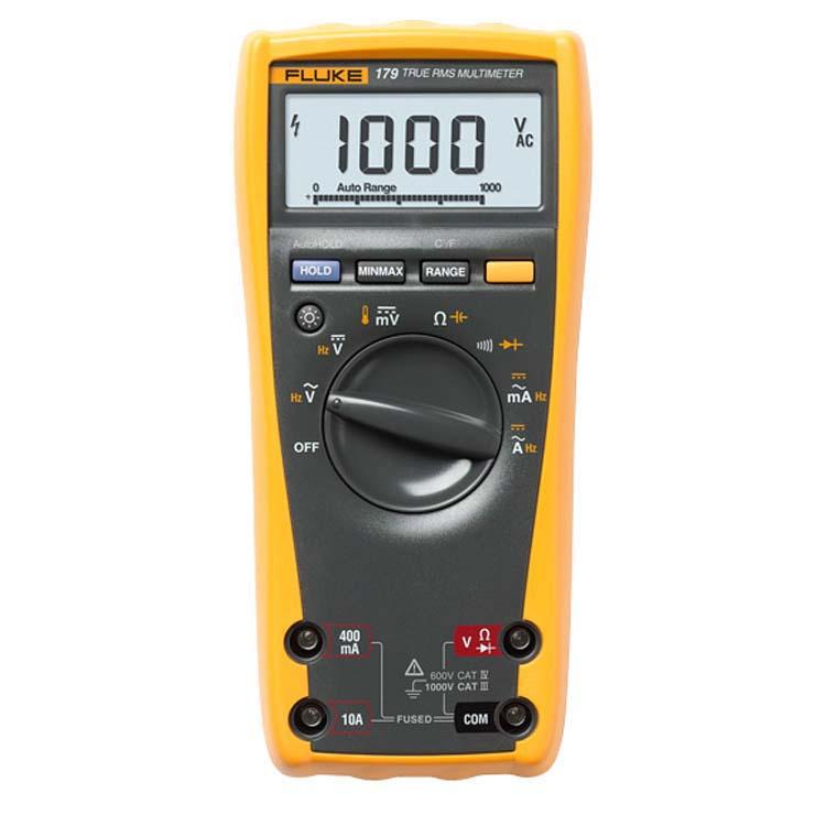 Fluke, True Rms Multimeter W. Backlight & Temp