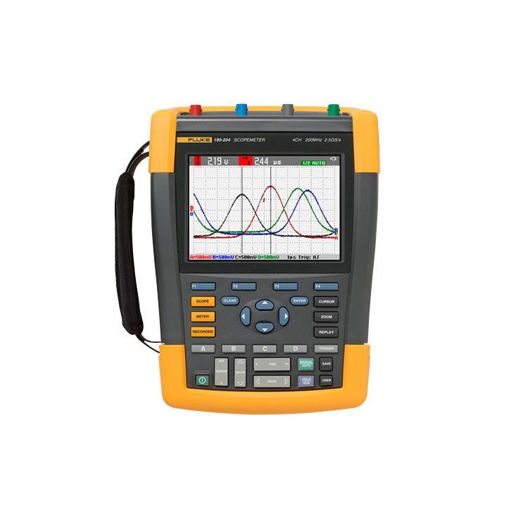Fluke, Scopemeter 4 Channel 200Mhz Colour With Scc290 Kit Aus