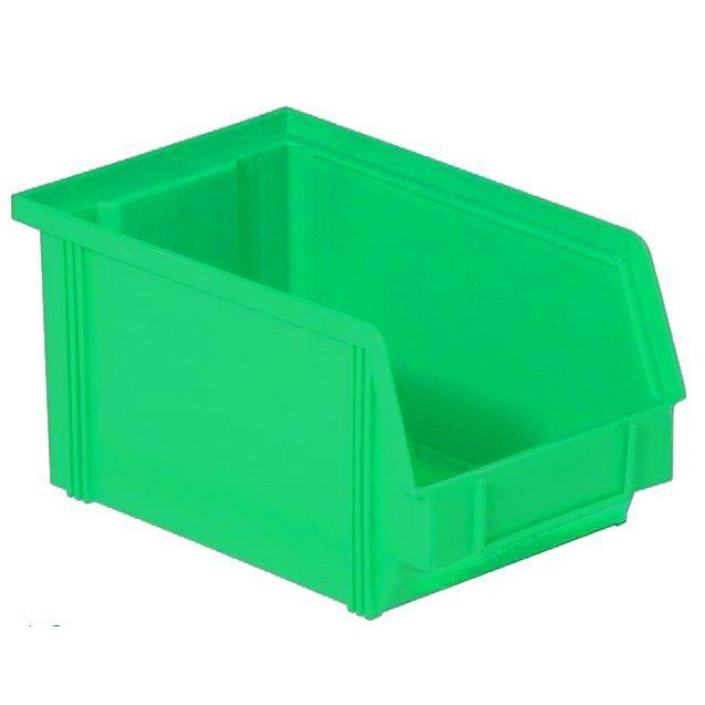 Henchman Dissipative ESD Bin Green 235 x 145 x 125mm