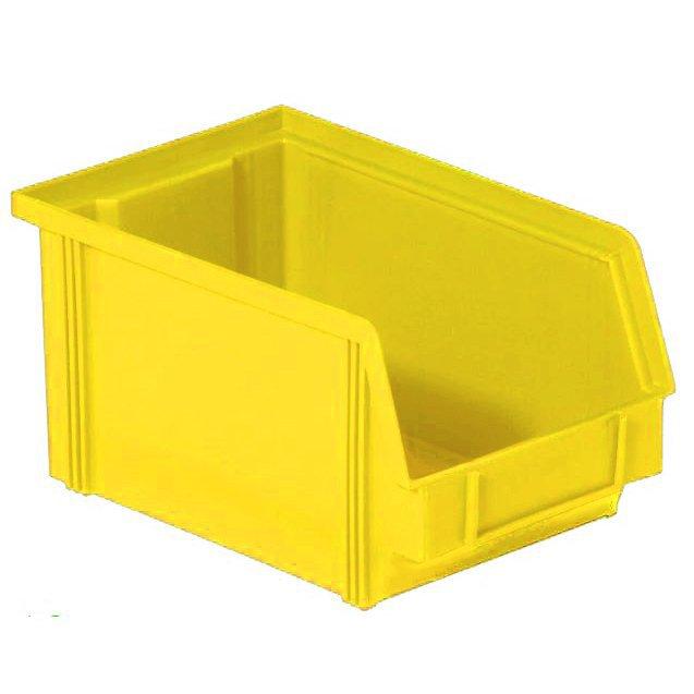 Henchman Dissipative ESD Bin Yellow 235 x 145 x 125mm