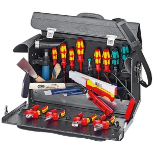 Knipex Tool Bag 24 Parts For Electrical Contractors, Top Model