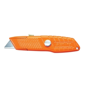Orange Ultra Grip Safety Knife + Thumlock