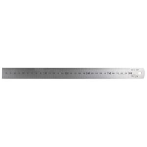 150mm/6 Inch Stainless Steel Ruler - Metric/Imperial