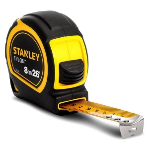 Stanley Tape Measure 8M/26 FT X 25mm