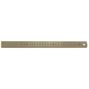 300mm Stainless Steel Ruler - Metric Only
