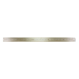 450mm/18 Inch Stainless Steel Ruler - Metric/Imperial