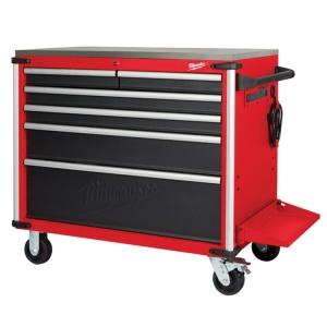Milwaukee 40 Inch Mobile Work Bench Steel Top