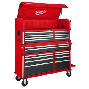 Milwaukee 56 Inch Steel Storage High Capacity Chest & Cabinet