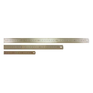 600mm/24 Inch Stainless Steel Ruler - Metric/Imperial