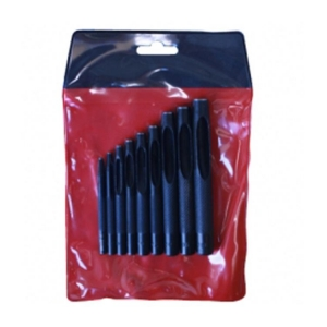 Hollow Punch Set 2-10mm 9 Pcs - Click for more info
