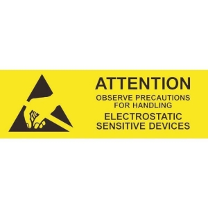 Desco ESD Attention Sign