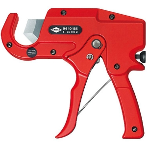 Knipex Pipe Cutter For Plastic Conduit Pipes (Electrical Installation Work) 185