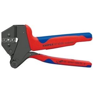 Knipex Crimp System Pliers Burnished 200 mm
