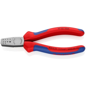 Knipex Crimping Pliers For End Sleeves (Ferrules), Grips 145 mm