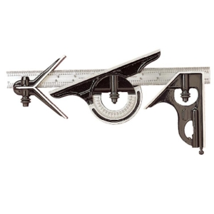 Combination Set 300mm With Protractor