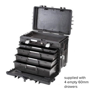 GT Line All In One Tool Box 4 Empty 60mm Drawers - Click for more info