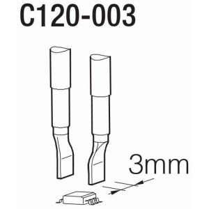 JBC C120 Tweezer Cartridge 3.00mm
