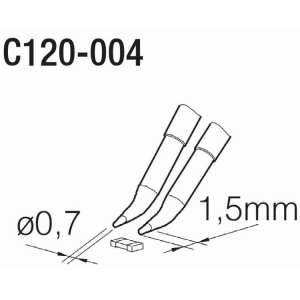 JBC PA120 Cartridge 0.7mm Chip Component
