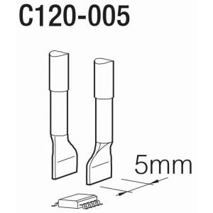 JBC PA120 Tweezer Cartridge 5mm Inline