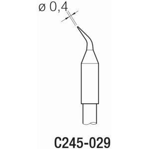 JBC T245 Cartridge 0.4mm Bent