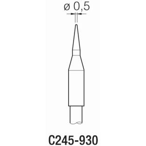 JBC T245 Cartridge 0.5mm Conical