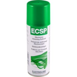 Electrolube Electronic Cleaning Solvent Plus Aerosol With Brush