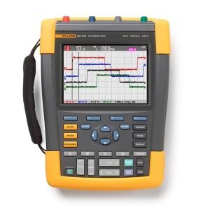 Fluke, Scopemeter 4 Channel 500Mhz Colour With Scc290 Kit Aus