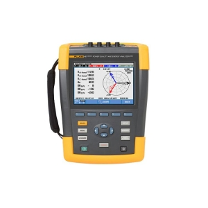 Fluke, 400 Hz Three-Phase Power Quality And Energy Analyser (W/O Clamps)