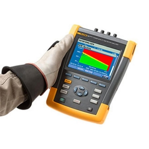 Fluke, Motor Analyser Unit Only W/O Clamps & Fc Wifi Sd Card