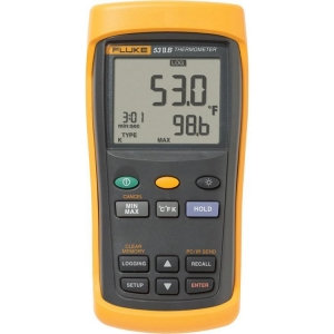 Fluke, Single Input Thermometer W/Recording (In