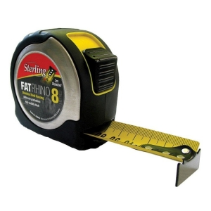 8mx 33mm FatRhino Tape Measure