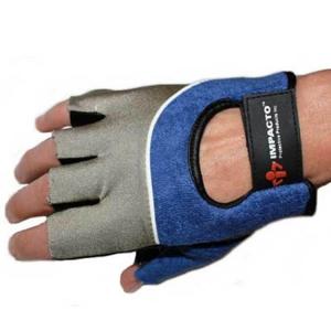 Large Half-Finger Riveting Gloves