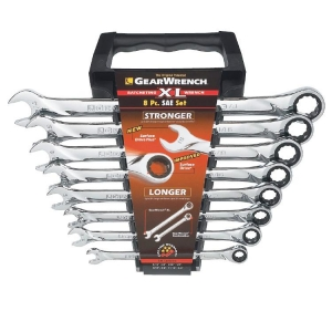 Gearwrench Xl Ratcheting Combination Imp. Set 8 Pcs