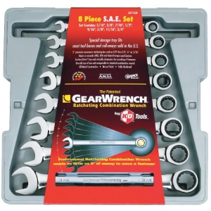 Gearwrench Ratcheting Combination Set Imp. 8 Pcs