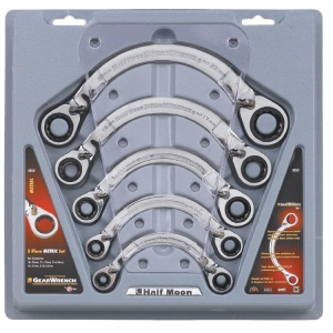 Gearwrench Half Moon Reversible Metric Set 5 Pcs