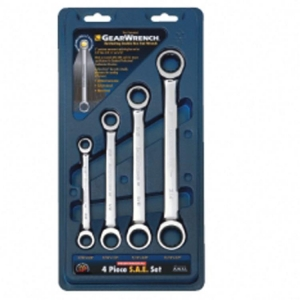 Gearwrench Double Box Ratcheting Imp. Spanner Set 4