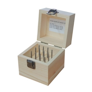 12 Pc 1/8 Inch Carbide Burr Set In Box