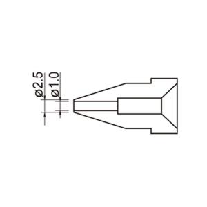Hakko A1005 Nozzle/1.0 mm for 802 .808. 809. 807. 817
