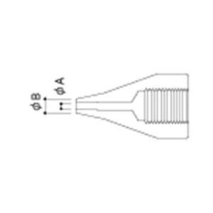 Hakko A1499 S-Nozzle/1.0 mm for 815. 816