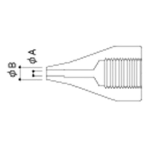 Hakko A1502 Nozzle/1.6 mm for 815. 816