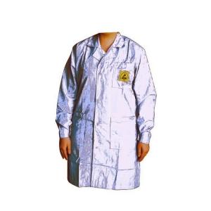 ESD Lab Coat White XXXL Polycotton